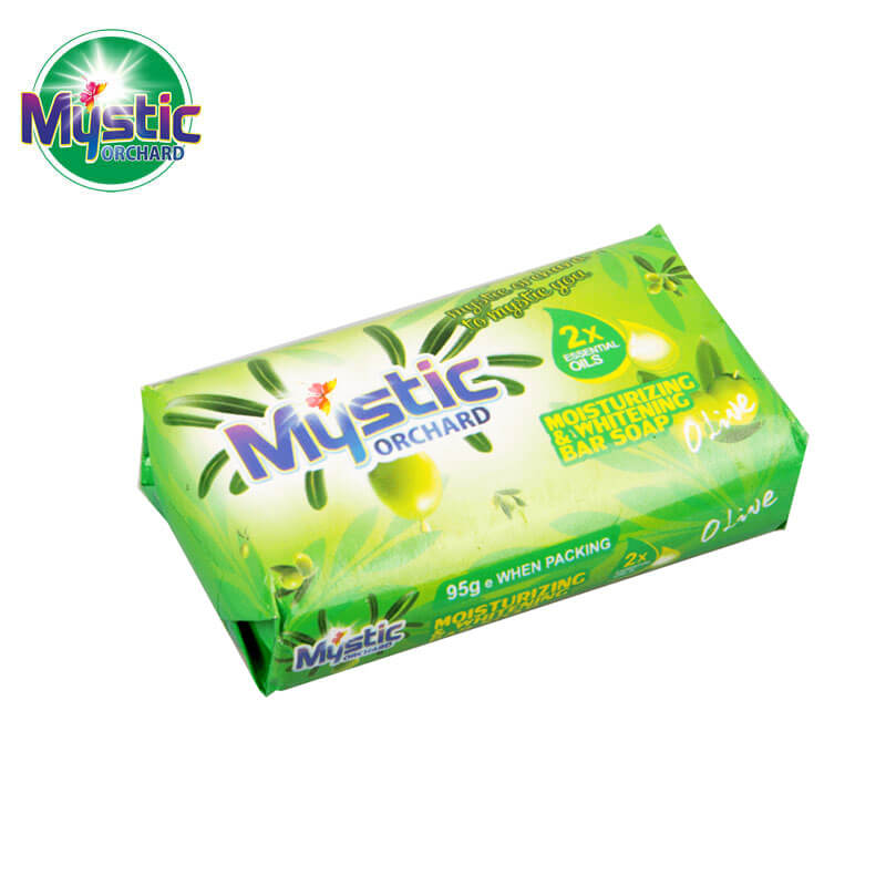 Moisturizing & Whitening Bar Soap Carton-Packed MYSTIC