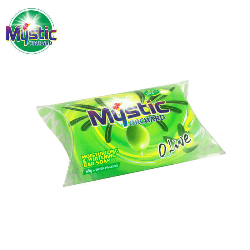 Moisturizing & Whitening Bar Soap Plastic Box-Packed MYSTIC
